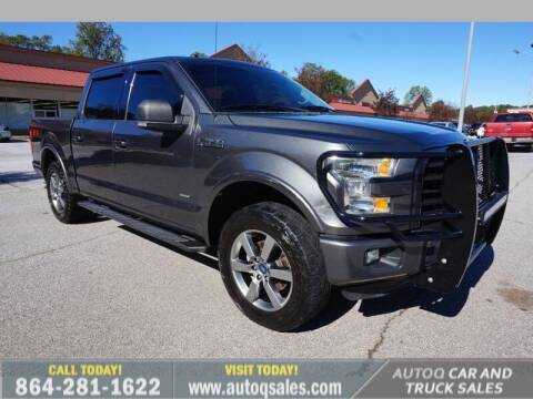 2016 Ford F-150 for sale at Auto Q Car and Truck Sales in Mauldin SC