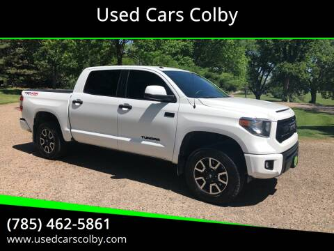2014 Toyota Tundra for sale at Used Cars Colby in Colby KS