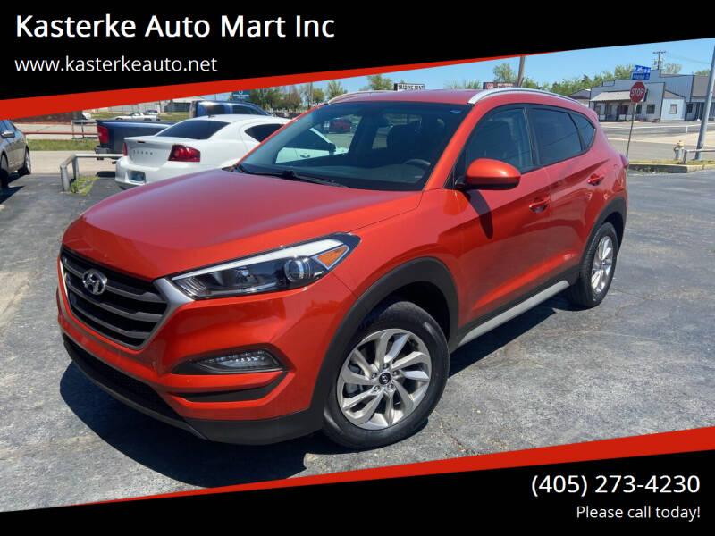 2017 Hyundai Tucson for sale at Kasterke Auto Mart Inc in Shawnee OK