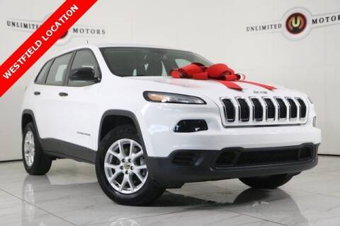 2017 Jeep Cherokee for sale at INDY'S UNLIMITED MOTORS - UNLIMITED MOTORS in Westfield IN