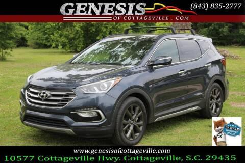 2017 Hyundai Santa Fe Sport for sale at Genesis Of Cottageville in Cottageville SC