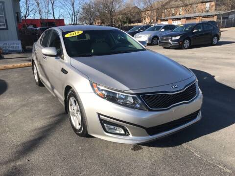 2015 Kia Optima for sale at Auto Solution in San Antonio TX