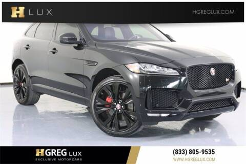 2017 Jaguar F-PACE for sale at HGREG LUX EXCLUSIVE MOTORCARS in Pompano Beach FL