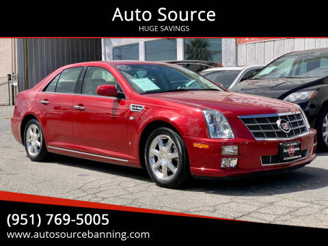 2008 Cadillac STS for sale at Auto Source in Banning CA