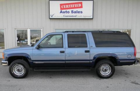 1996 GMC Suburban for sale at Certified Auto Sales in Des Moines IA