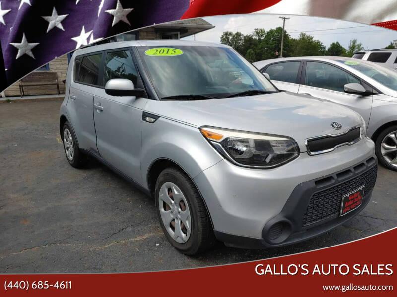 2014 Kia Soul for sale at Gallo's Auto Sales in North Bloomfield OH