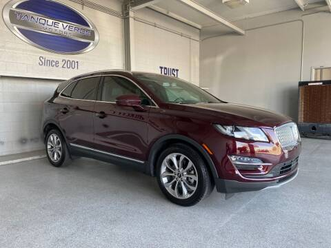 2019 Lincoln MKC for sale at TANQUE VERDE MOTORS in Tucson AZ
