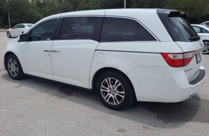 2011 Honda Odyssey for sale at Navarro Auto Motors in Hialeah FL