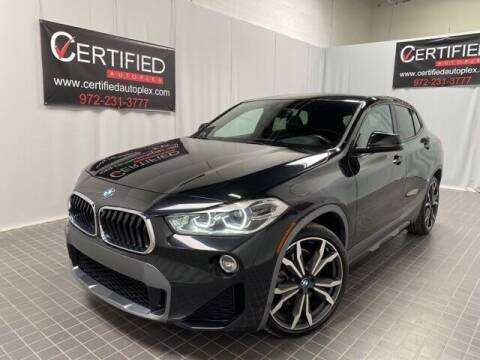2018 BMW X2 for sale at CERTIFIED AUTOPLEX INC in Dallas TX