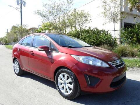 2013 Ford Fiesta for sale at SUPER DEAL MOTORS in Hollywood FL