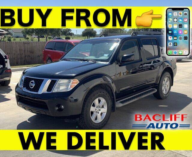 2012 Nissan Pathfinder for sale at Bacliff Auto in Bacliff TX