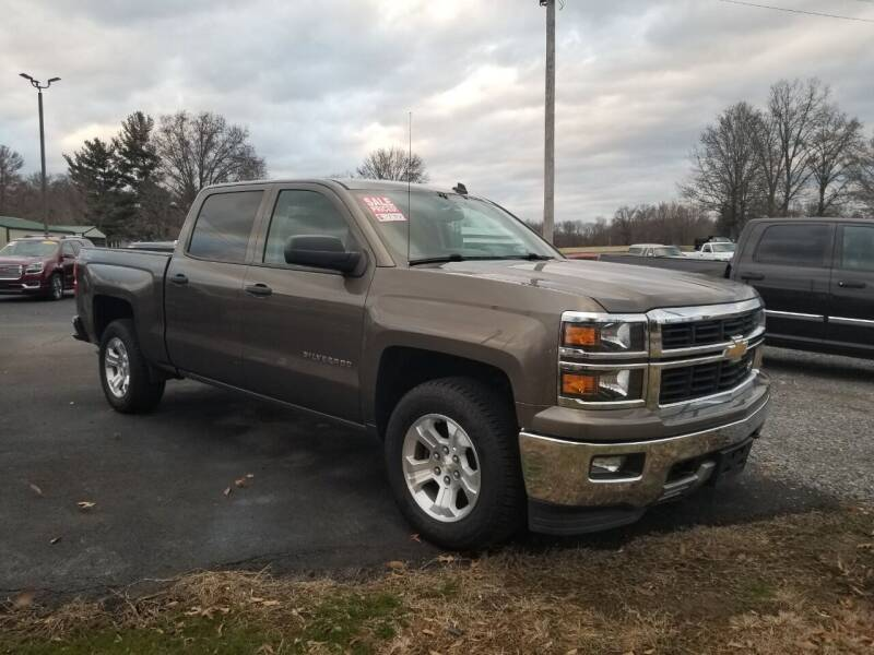2014 Chevrolet Silverado 1500 for sale at Ridgeway's Auto Sales in West Frankfort IL