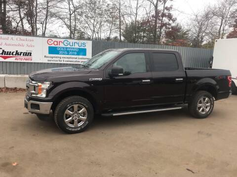 2018 Ford F-150 for sale at Chuckran Auto Parts Inc in Bridgewater MA
