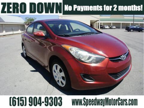 2013 Hyundai Elantra for sale at Speedway Motors in Murfreesboro TN