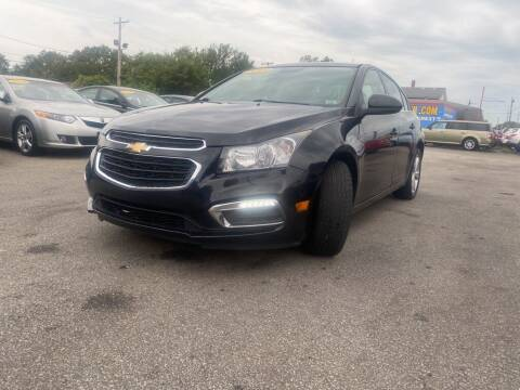 2015 Chevrolet Cruze for sale at Eagle Motors in Hamilton OH