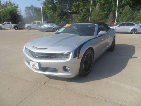 2012 Chevrolet Camaro for sale at Aztec Motors in Des Moines IA