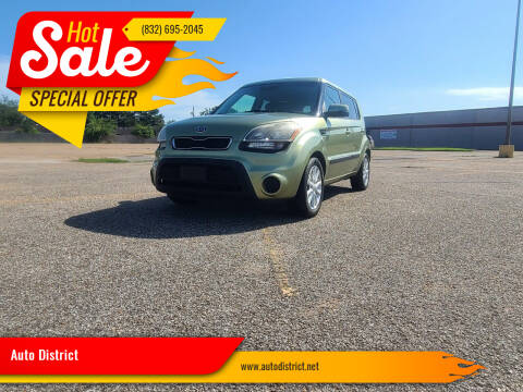 2012 Kia Soul for sale at Auto District in Baytown TX
