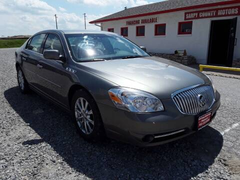 2010 Buick Lucerne for sale at Sarpy County Motors in Springfield NE