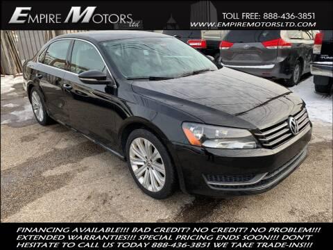 2012 Volkswagen Passat for sale at Empire Motors LTD in Cleveland OH