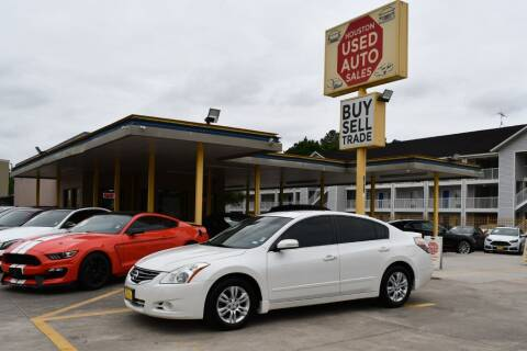 2012 Nissan Altima for sale at Houston Used Auto Sales in Houston TX