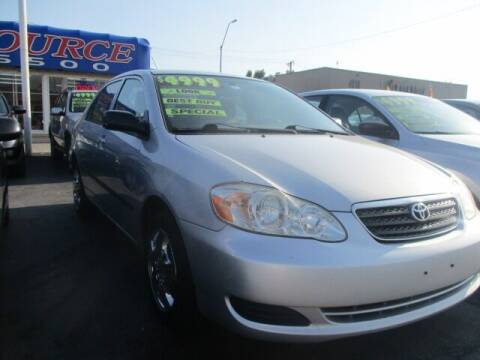 2008 Toyota Corolla for sale at Car One - CAR SOURCE OKC in Oklahoma City OK