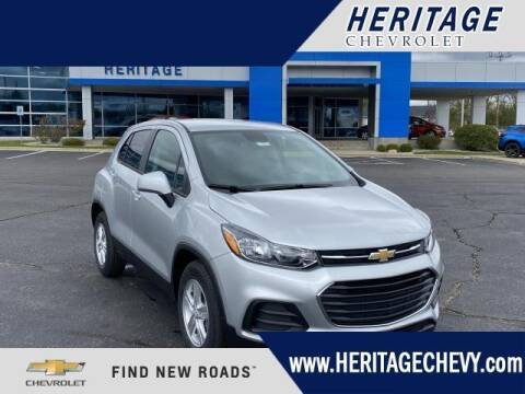 2020 Chevrolet Trax for sale at HERITAGE CHEVROLET INC in Creek MI