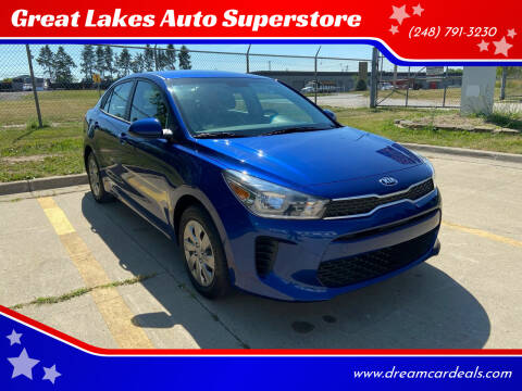 2019 Kia Rio for sale at Great Lakes Auto Superstore 2 in Waterford MI