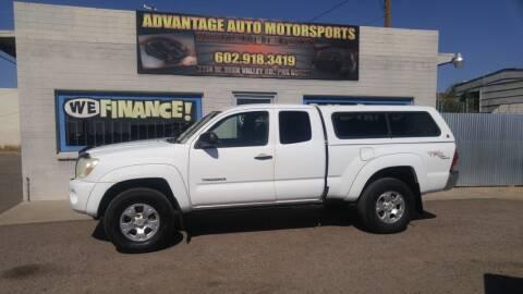 2006 Toyota Tacoma for sale at Advantage Auto Motorsports in Phoenix AZ