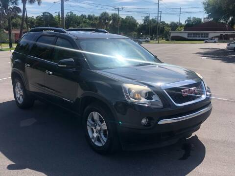 2007 GMC Acadia for sale at Consumer Auto Credit in Tampa FL