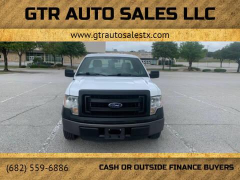 2014 Ford F-150 for sale at GTR Auto Sales LLC in Haltom City TX