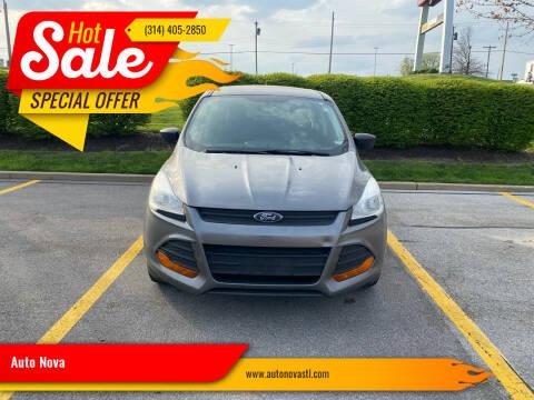 2014 Ford Escape for sale at Auto Nova in St Louis MO