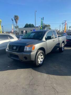 2015 Nissan Titan for sale at LA PLAYITA AUTO SALES INC - 3271 E. Firestone Blvd Lot in South Gate CA