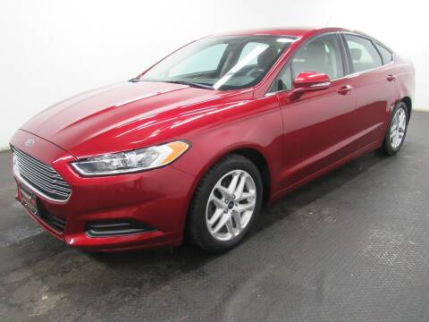2016 Ford Fusion for sale at Automotive Connection in Fairfield OH