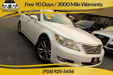 2010 Lexus LS 460 for sale at West Coast Auto Sales Center in Sacramento CA