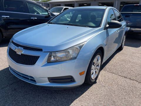 2012 Chevrolet Cruze for sale at Blake Hollenbeck Auto Sales in Greenville MI