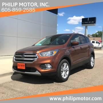 2017 Ford Escape for sale at Philip Motor Inc in Philip SD