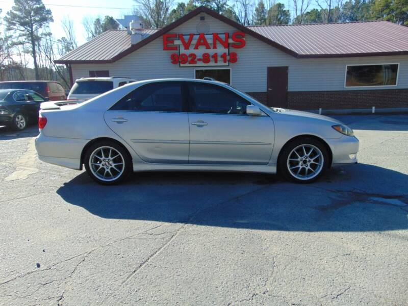 2006 Toyota Camry for sale at Evans Motors Inc in Little Rock AR