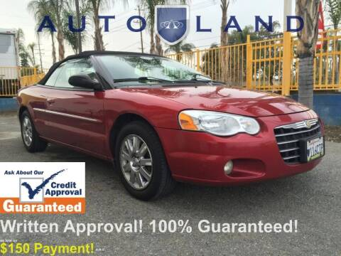 2004 Chrysler Sebring for sale at Auto Land in Bloomington CA