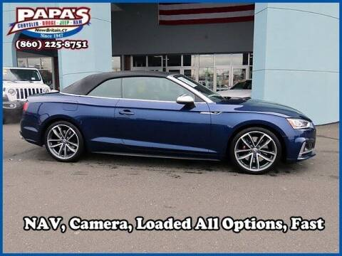 2018 Audi S5 for sale at Papas Chrysler Dodge Jeep Ram in New Britain CT