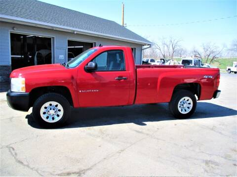 2008 Chevrolet Silverado 1500 for sale at Steffes Motors in Council Bluffs IA