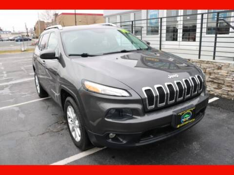 2014 Jeep Cherokee for sale at AUTO POINT USED CARS in Rosedale MD
