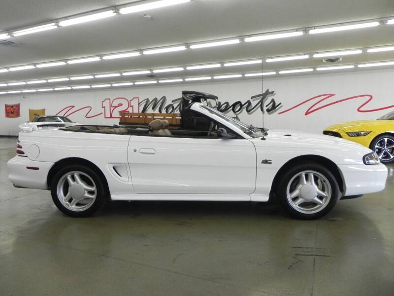 1994 Ford Mustang for sale at 121 Motorsports in Mt. Zion IL