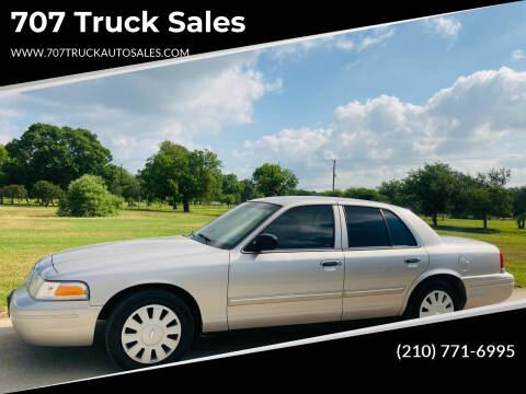 2009 Ford Crown Victoria for sale at 707 Truck Sales in San Antonio TX