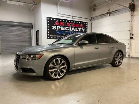 2015 Audi A6 for sale at Arizona Specialty Motors in Tempe AZ