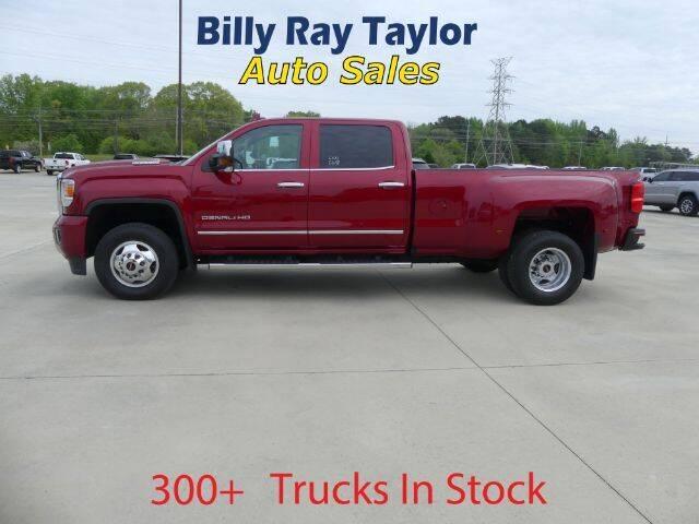 2018 GMC Sierra 3500HD for sale at Billy Ray Taylor Auto Sales in Cullman AL