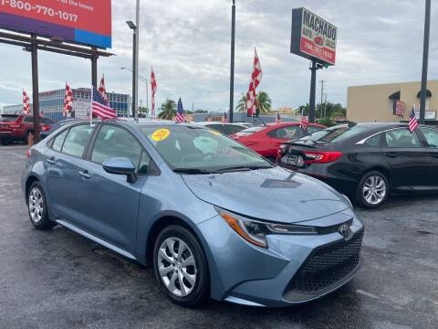 2020 Toyota Corolla for sale at MACHADO AUTO SALES in Miami FL