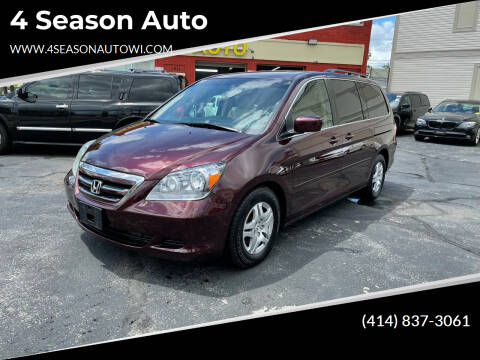 2007 Honda Odyssey for sale at 4 Season Auto in Milwaukee WI