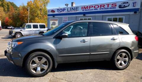 2008 Acura MDX for sale at Top Line Import in Haverhill MA