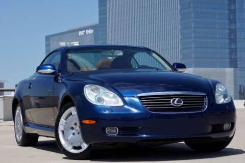 2002 Lexus SC 430 for sale at JD MOTORS in Austin TX