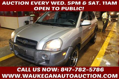 2005 Hyundai Tucson for sale at Waukegan Auto Auction in Waukegan IL